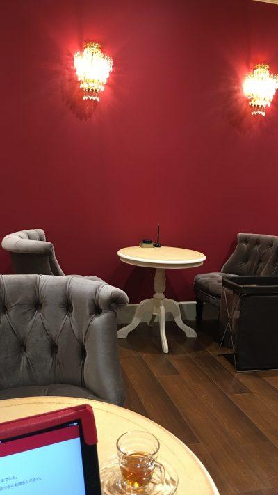 銀座カラー待合室