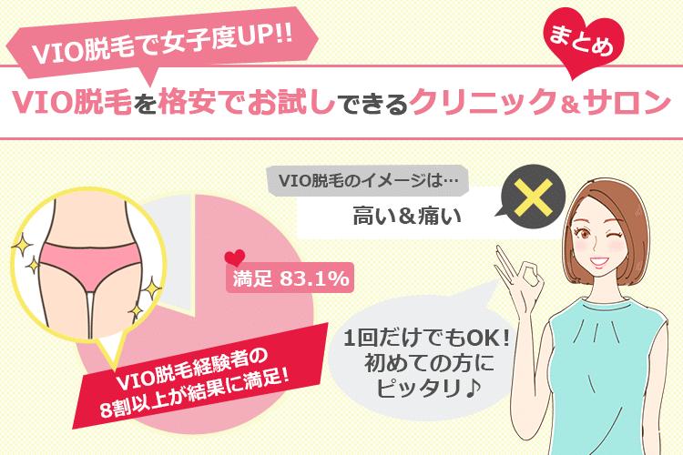 VIO脱毛格安サロン&クリニック