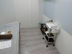 SASALA(ササラ)心斎橋店施術室