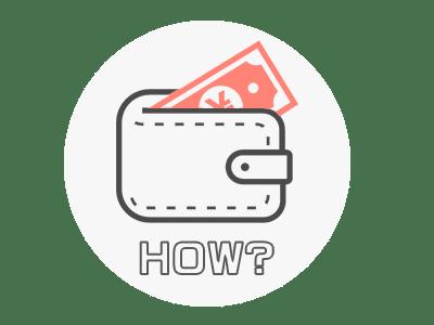 支払い方法イラスト