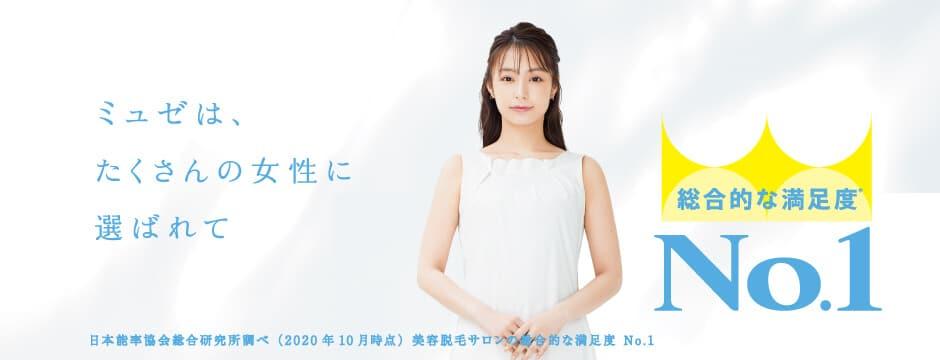ミュゼ公式サイトのキャンペーン画像