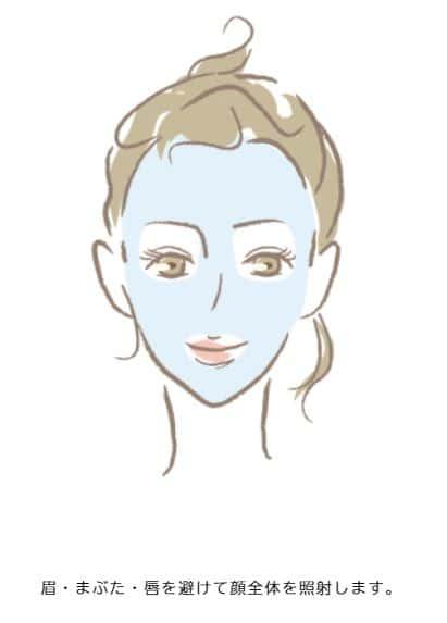 ルシアクリニックの顔脱毛範囲