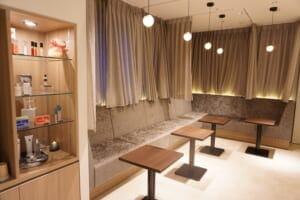 エスラボの待合室