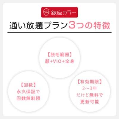 通い放題プラン3つの特徴