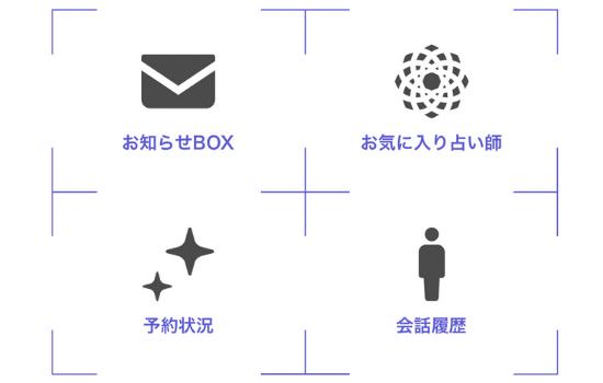 電話占い師名鑑プラス:マイメニュー