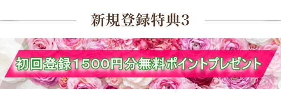 ヴェルニ新規登録1,500円分無料ポイントプレゼント